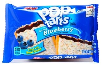 Печенье Pop Tarts with Blueberry, 100гр