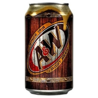 A&W Root Beer, 355мл