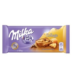 Шоколад Milka Collage Caramel, 93гр