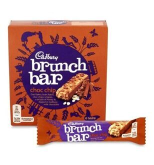 Cadbury Brunch Bar Choc Chip, 192гр