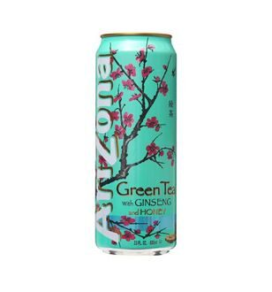 Чай Arizona Green Tea With Ginseng and Honey, 340мл