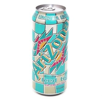 Чай Arizona Lemon With All Natural Flavors, 340мл