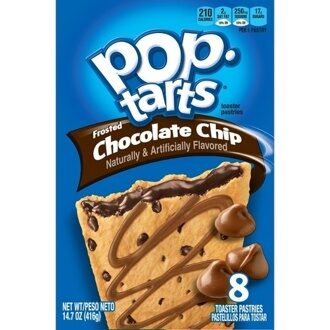 Pop-Tarts Chocolate Chip, 104гр