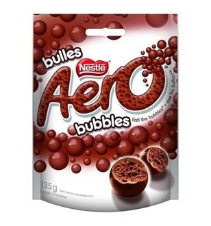 Nestle Aero Milk Bubbles, 113гр