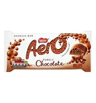 Nestle Aero Milk Chocolate, 100гр