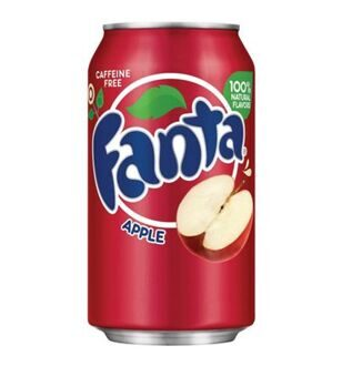 Fanta Apple, 355мл