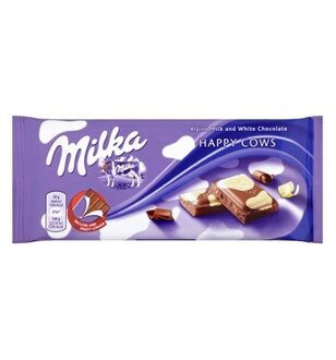 Шоколад Milka Happy Cow, 100гр