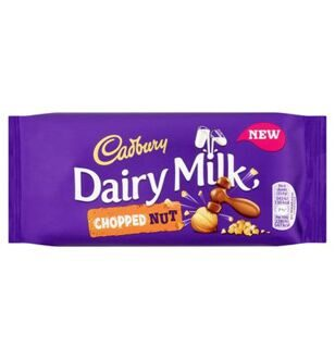 Шоколад Cadbury Dairy Milk Chopped Nut, 95гр
