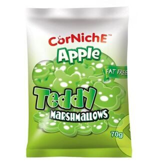 Маршмеллоу Apple Teddy Marshmallows, 70гр
