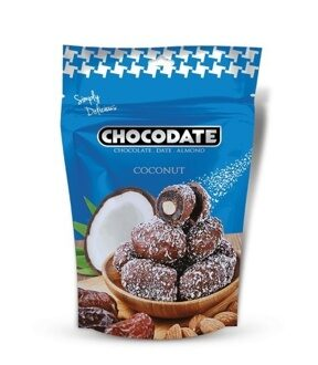 Chocodate Финики в шоколаде Exclusive Pouch Milk Coconut