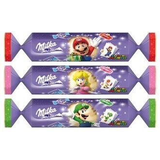 Christmas Milka & Super Mario 88гр