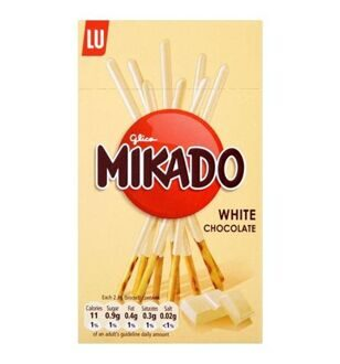 LU Mikado White Chocolate, 75гр