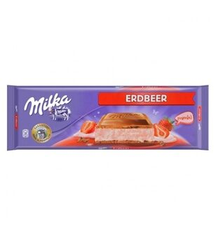 Шоколад Milka Strawberry, 300гр