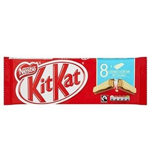 Kit Kat Cookies & Cream, 166гр