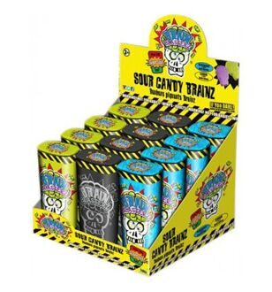 Леденцы Brain Blasterz Sour Candy Brainz, 22гр