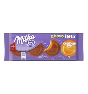 Печенье Milka Choco Jaffa Orange Jelly, 147гр