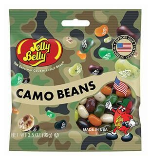 Драже Jelly Belly Camo Beans, 99гр