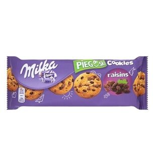 Печенье Milka Choco Cookies with Raisins, 135гр
