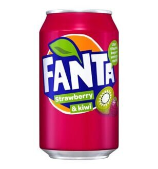Fanta Strawberry & Kiwi, 330мл