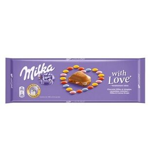 Шоколад Milka With Love, 270гр