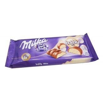 Milka Bubble White 95гр