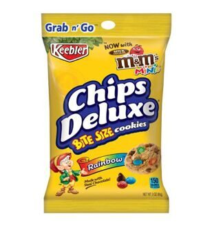 Печенье Keebler Chips Deluxe with M&M's, 85гр