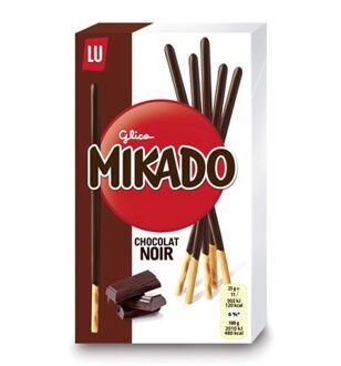 LU Mikado Dark Chocolate, 75гр