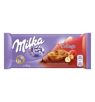 Шоколад Milka Collage Fruit, 93гр