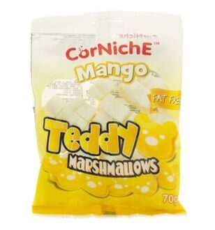 Маршмеллоу Mango Teddy Marshmallows, 70гр