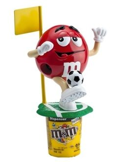 M&M's Peanut Dispenser, 125гр