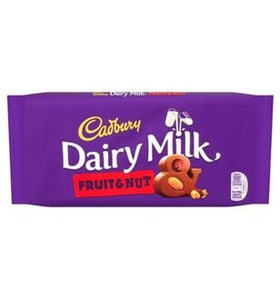 Шоколад Cadbury Dairy Milk Fruit & Nut, 110гр