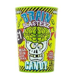 Леденцы Brain Blasterz Candy, 48гр