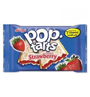 Печенье Pop Tarts with Strawberry, 100гр