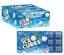 ICE BREAKERS CUBES Жев.резинка с мятой