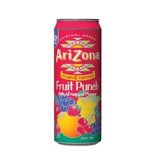 Чай Arizona Fruit Punch With All Natural Flavors, 340мл
