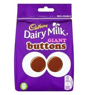 Конфеты Cadbury Giant Buttons, 119гр