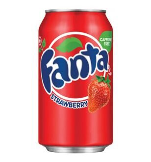 Fanta Strawberry, 355мл