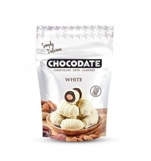 Chocodate Финики в шоколаде Exclusive Pouch Milk White 100g