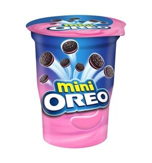 Печенье OREO Mini Strawberry Creme, 67гр