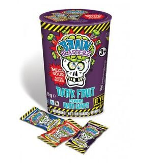 Леденцы Brain Blasterz Dark Fuit Flavoured Hard Candy, 25гр