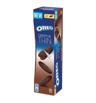 Печенье OREO Crispy & Thin Chocolate Creme, 96гр