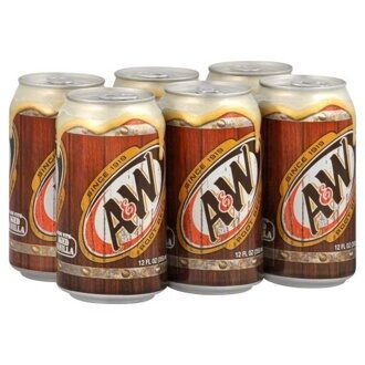A&W Root Beer 355мл