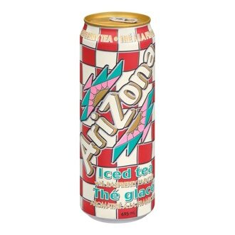 Чай Arizona Iced Tea With Raspberry Flavor, 340мл