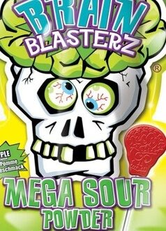 Кислый леденец Brain Blasterz Mega Sour Powder, 10гр