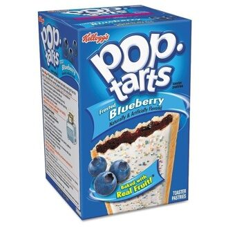 Pop-Tarts Frosted Blueberry, 104гр