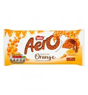 Nestle Aero Orange Chocolate, 100гр