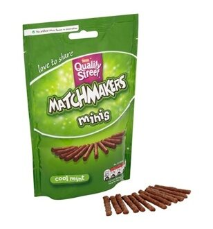 Quality Street Matchmakers Minis Cool Mint, 108гр
